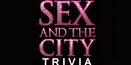 Sex and the City Trivia Fundraiser (live host) via Zoom (EB) tickets