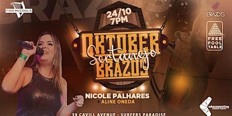 OktoberBrazos - Sertanejo com Nicole Palhares & Aline Oneda tickets