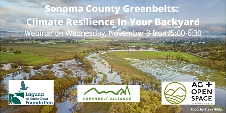Sonoma County Greenbelts: Climate Resilience In Your Backyard tickets