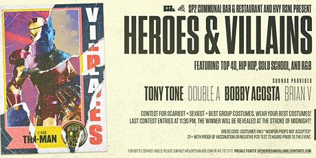 Heroes and Villians Halloween Party tickets