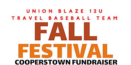 Fall Festival Trunk  or Treat tickets