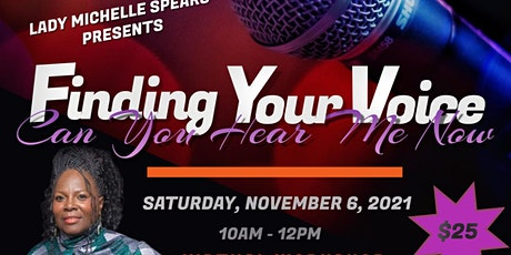 Finding Your Voice Workshop tickets