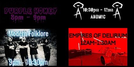 Halloween Jam - Purple Honey/Modern Folklore/Anomic/Empires of Delirium tickets