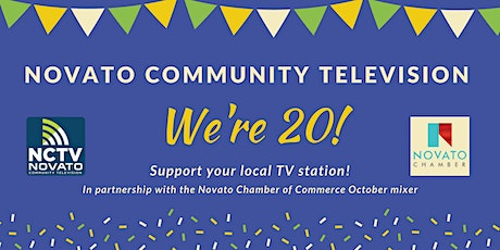 Novato Community Television is turning 20! tickets