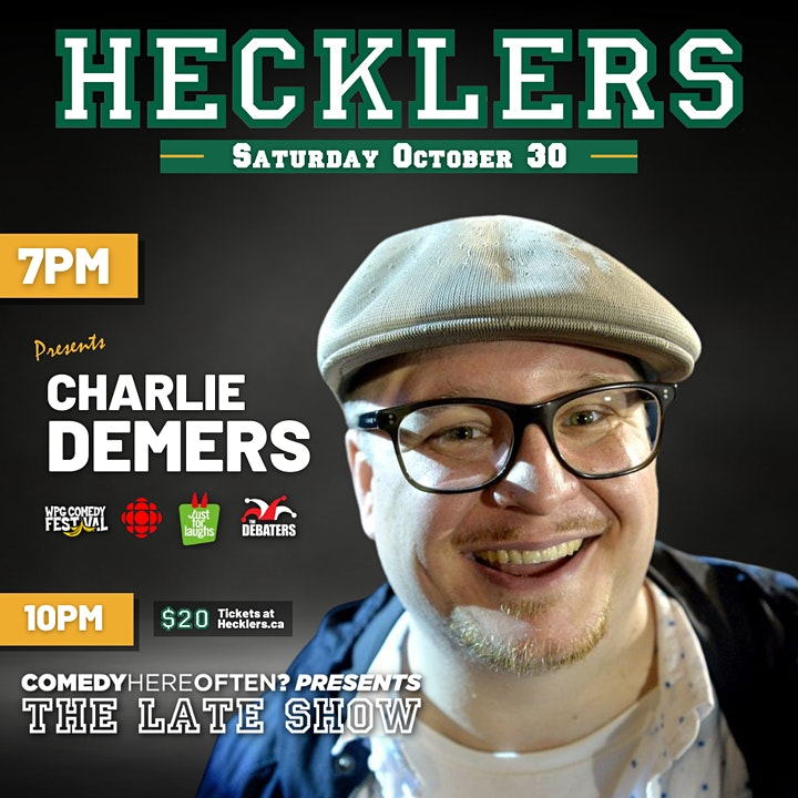Hecklers & Comedy Here Often present: Live Stand up Comedy - Every Saturday image