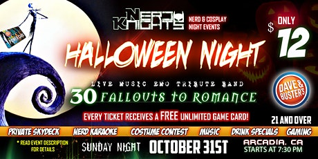 Halloween Night & Costume Karaoke Party at Dave & Buster's tickets