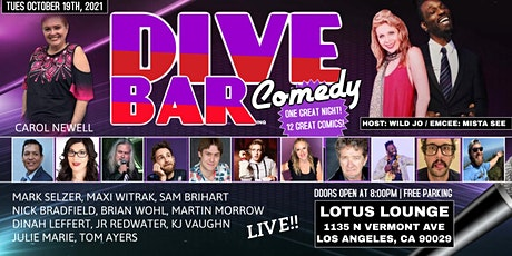 Dive Bar Comedy at Lotus Lounge tickets