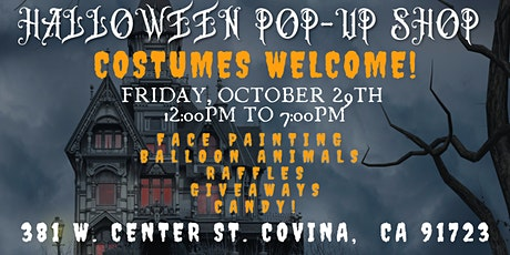 Halloween Costume Pop-Up at Historic Sacred Heart Chapel tickets