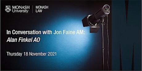 In Conversation with Jon Faine: Dr Alan Finkel AO tickets