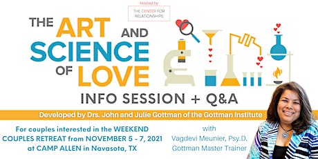 Art & Science of Love Retreat: Info Session + Q&A with Dr. Vagdevi Meunier tickets