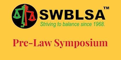 Pre-Law Symposium tickets