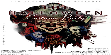 THE HALLOWEEN Costume Party tickets