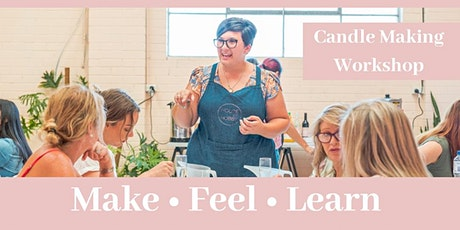 CANDLE MAKING- Self care Saturday's tickets