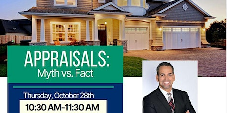 Appraisals: Myths Vs. Facts tickets