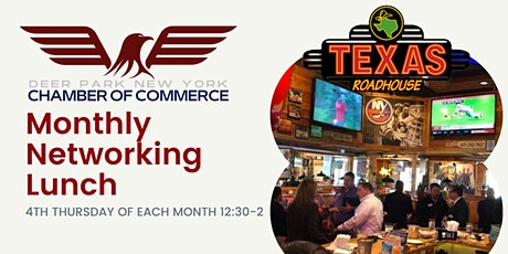 Deer Park Chamber of Commerce - October Networking Lunch tickets