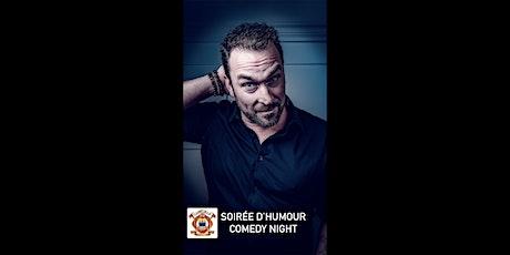 Soirée d'humour/Comedy Night  avec/with Derek Seguin tickets