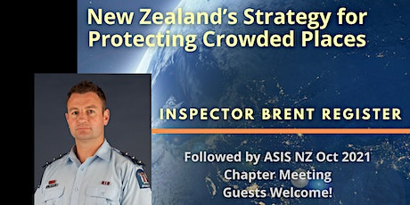 New Zealand's  Strategy for Protecting Crowded Places tickets