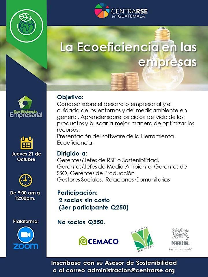 Imagen de La Ecoeficiencia en las Empresas