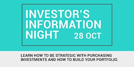 Australian Investor's Information Night 2021 tickets