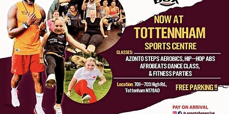 AzontoBox Fitness Party tickets