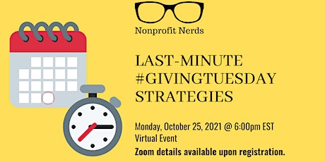 Last-Minute #GivingTuesday Campaign Strategies tickets