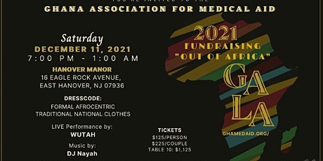 GAMA fundraising gala. Hope to see all of you in person at East Hanover  NJ tickets