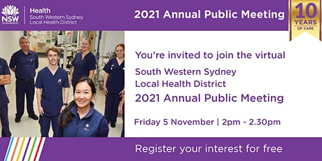 2021 Annual Public Meeting tickets