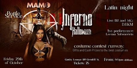 Mambo Halloween Inferno - Latin Night -  Costume Contest tickets