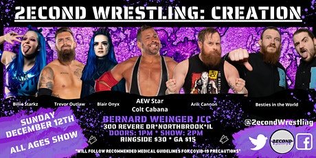 2econd Wrestling: Creation tickets