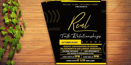 Real Talk Relationships tickets