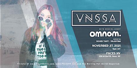 VNSSA & OMNOM at FACES NV tickets