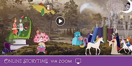 Online  Storytime via Zoom  - 20/10 tickets