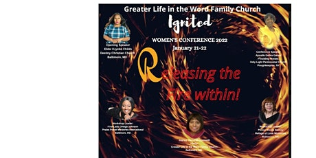 Ignited Women's Conference 2022 - Releasing the Fire Within tickets