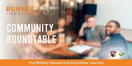 Bunker Roundtable Seattle   The Military Spouse & Entrepreneur Journey tickets