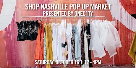 Shop Nashville Pop Up Market tickets