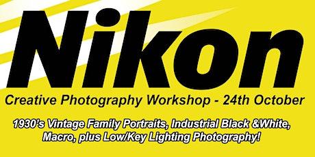 Nikon Creative Photography Workshop Event tickets