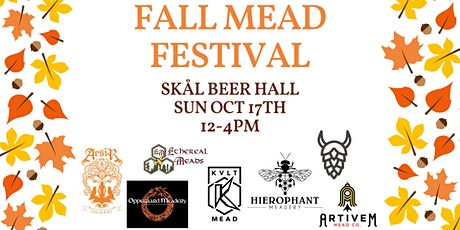 Fall Mead Festival at Skål Beer Hall - Session 2 (2-4p) tickets