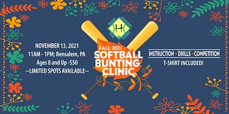 Fall 2021 Bunting Clinic tickets