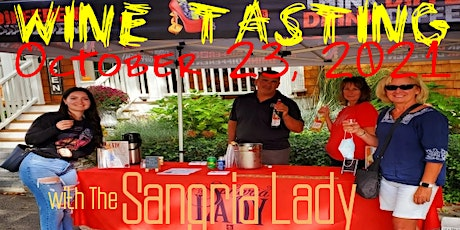 Wine Tasting with The Sangria Lady tickets