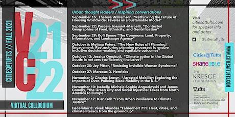 Cities@Tufts Virtual 2021 Colloquium tickets
