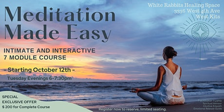 Meditation Made Easy tickets