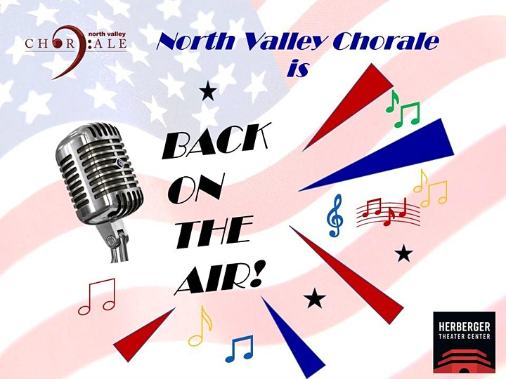 """This Saturday - North Valley Chorale presents """"Back On The Air!"""" - PART 1 image"""