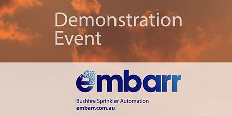 Embarr Demonstration at the Family Bushfire Ready Community Day tickets