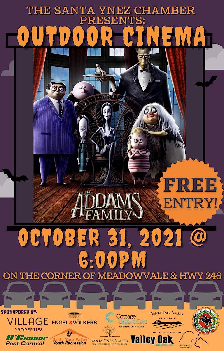 Halloween Outdoor Cinema - The Addams Family image