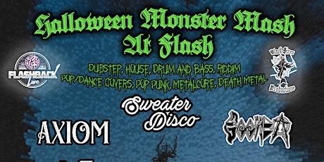Halloween Monster Mash at Flash - Multi Genre Show tickets