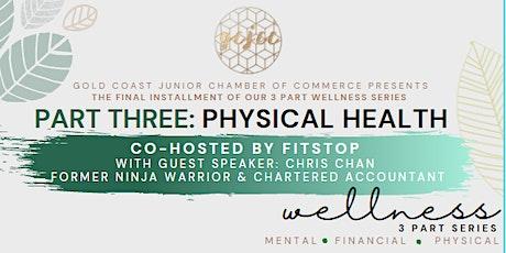 GJCC X  Fitstop Wellness Series Breakfast - Part 3: Physical tickets