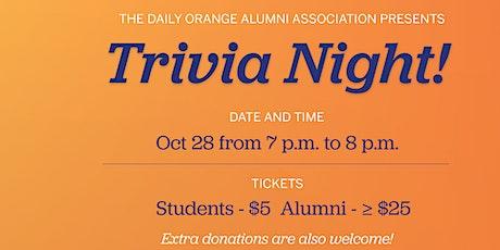 Daily Orange Virtual Trivia Night tickets