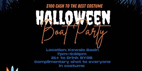 Le Halloween Boat Party tickets