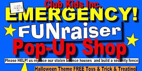 Mesa Non-profit fundraiser POP-UP shop Halloween Weekend tickets
