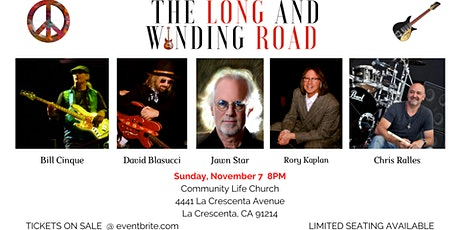THE LONG AND WINDING ROAD tickets